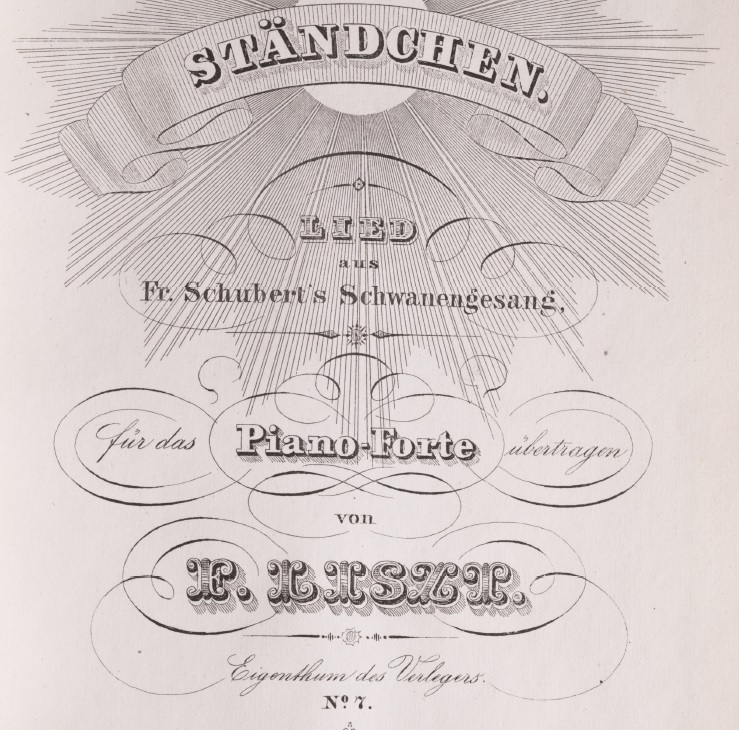 Standchen cover page